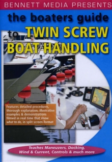 Boaters Guide to Twin Screw Boat Handling, DVD  DVD