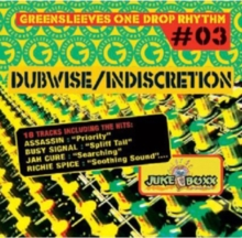 Greensleeves One Drop Rhythm #03: Dubwise/Indiscretion, CD / Album Cd