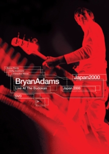 Bryan Adams: Live at Budokan, DVD  DVD