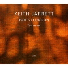 Keith Jarrett: Testament, CD / Album Cd