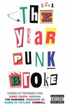 Sonic Youth: 1991 - The Year That Punk Broke, DVD  DVD
