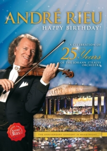 André Rieu: Happy Birthday! - A Celebration of 25 Years of The..., DVD  DVD