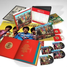 Sgt. Pepper's Lonely Hearts Club Band, CD / Box Set with DVD and Blu-ray Cd
