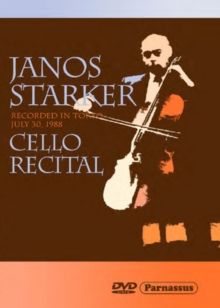 János Starker: Cello Recital, DVD  DVD