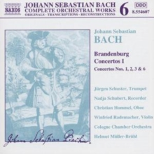 Brandenburg Concertos 1 - Nos. 1, 2, 3 & 6, CD / Album Cd
