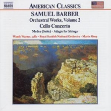 Orchestral Works: Cello Concerto - Medea (Suite), Adagio for Strings, CD / Album Cd