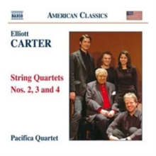 Elliott Carter: String Quartets Nos. 2, 3 and 4, CD / Album Cd