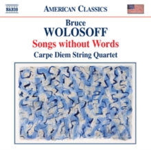 Bruce Wolosoff: Songs Without Words, CD / Album Cd