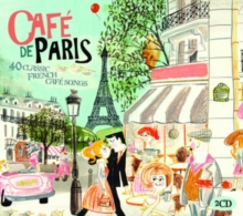 Café De Paris: 40 Classic French Café Songs, CD / Album Cd