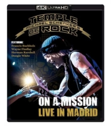 Michael Schenker's Temple of Rock: On a Mission - Live in Madrid, Blu-ray BluRay