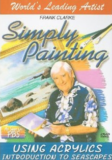 Frank Clarke's Simply Painting: Introduction to Seascapes, DVD  DVD