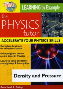 Physics Tutor: Density and Pressure, DVD  DVD