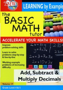 The Basic Math Tutor: Add, Subtract and Multiply Decimals, DVD DVD