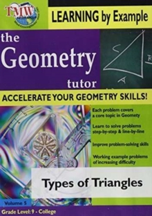 Geometry Tutor: Types of Triangles, DVD  DVD