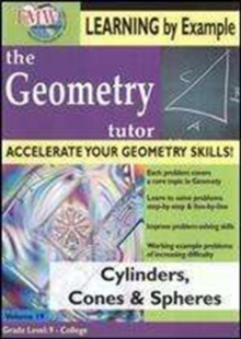 Geometry Tutor: Cylinders, Cones and Spheres, DVD  DVD