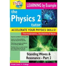 Physics Tutor 2: Standing Waves and Resonance - Part 2, DVD DVD