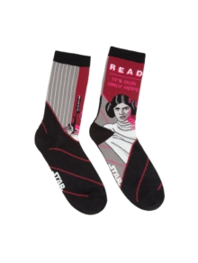 Star Wars : Read Leia Unisex Socks - Small, General merchandize Book