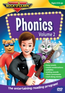 Rock N Learn: Phonics - Volume 2, DVD  DVD