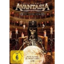 Avantasia: The Flying Opera - Around the World in 20 Days Live, DVD  DVD