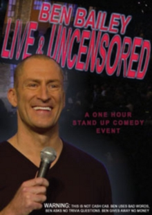 Ben Bailey: Live and Uncensored, DVD DVD