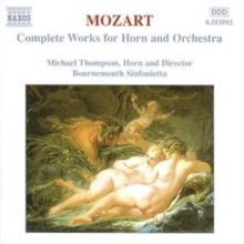 Complete Works for Horn and Orchestra (Thompson), CD / Album Cd