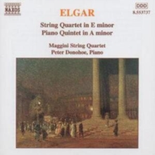 STRING QUARTET IN E MINOR/ PIANO QUINTET IN A MINOR, CD / Album Cd