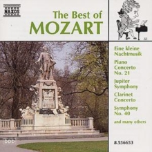 The Best of Mozart, CD / Album Cd