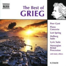 The Best of Grieg, CD / Album Cd