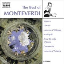 The Best of Monteverdi, CD / Album Cd