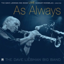 The Dave Liebman Big Band: Live As Always, DVD DVD