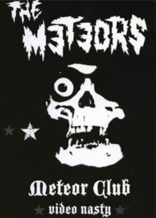 The Meteors: Video Nasty, DVD DVD