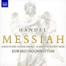 Messiah (Higginbottom, Choir of New College Oxford, Aam), CD / Album Cd