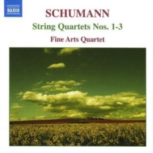 String Quartets Nos. 1 - 3 (Fine Arts Quartet), CD / Album Cd