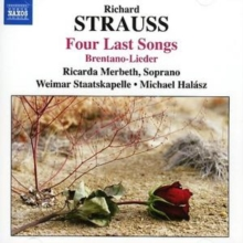 Four Last Songs (Halasz, Weimar Staatskapelle, Merbeth), CD / Album Cd
