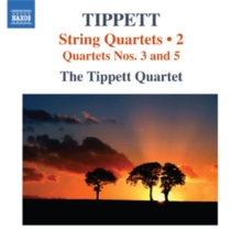 String Quartets: Quartets Nos 3 and 5, CD / Album Cd
