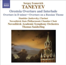 Oresteia Overture and Interlude, CD / Album Cd