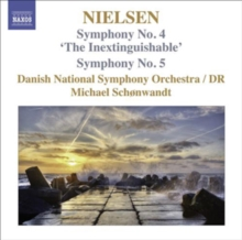Symphonies: Nos. 4, 'The Inextinguishable' and 5, CD / Album Cd