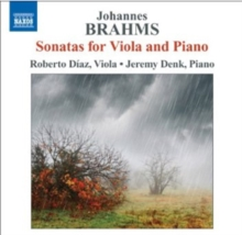Johannes Brahms: Sonatas for Viola and Piano, CD / Album Cd