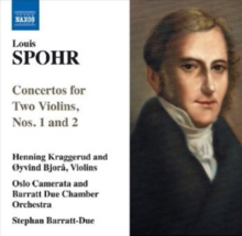 Concertos for Two Violins, Nos. 1 and 2, CD / Album Cd