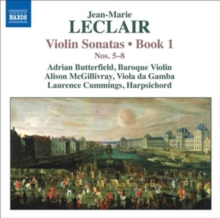 Violin Sonatas, Book 1: Nos. 5-8, CD / Album Cd