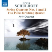 Erwin Schulhoff: String Quartets Nos. 1 and 2..., CD / Album Cd