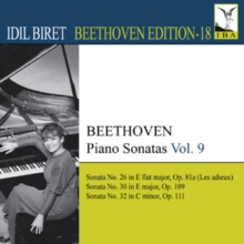 Beethoven: Piano Sonatas, CD / Album Cd