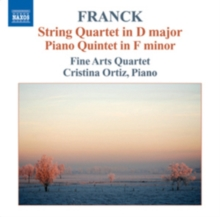 String Quartet in D Major/Piano Quintet in F Minor, Op. 14, CD / Album Cd