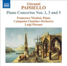 Piano Concertos Nos. 1, 3 and 5, CD / Album Cd