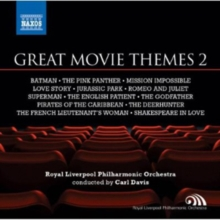 Great Movie Themes 2: Batman/The Pink Panther/Mission Impossible/..., CD / Album Cd
