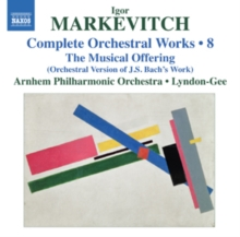 Igor Markevitch: Complete Orchestral Works, CD / Album Cd