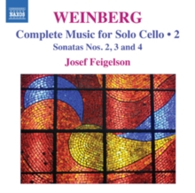 Weinberg: Complete Music for Solo Cello, CD / Album Cd