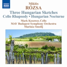 Miklos Rozsa: Three Hungarian Sketches/Cello Rhapsody/..., CD / Album Cd