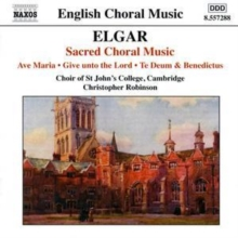 Sacred Choral Music (Robinson, Choir of St. John's College), CD / Album Cd