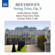 Beethoven: String Trios, Op. 9, CD / Album Cd